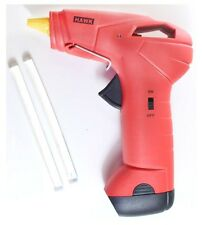 HAWK DELUXE BATTERY OPERATED GLUE GUN - WITH TWO GLUE STICKS