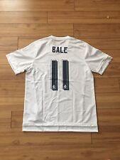 Real Madrid Home Jersey Shirt Kit 15-16 2015-2016 SZ Size L Large Gareth Bale
