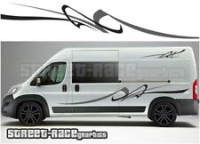 Motorhome Campervan 011 graphics stickers decal Fiat Ducato Citroen Relay Boxer