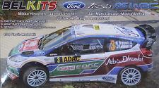 Belkits ® bel-003 Ford Fiesta RS WRC (2011 ADAC rally Alemania) en 1:24