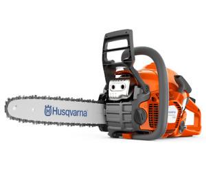 Husqvarna 130 petrol Chainsaw 14inch bar and chain,38.22 cc