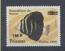 POISSON Bénin surcharge de 2000 cote 100euro 1269 ** FISH FISCH PESCE