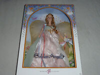 NEW IN BOX GOLDEN ANGEL BARBIE COLLECTOR DOLL PINK LABEL MATTEL J9187 NIB 2006 >