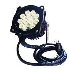 (2) Anyray Loading Dock Light LED Flag Pole Light 16 Watt Spot 15° Beam 16W