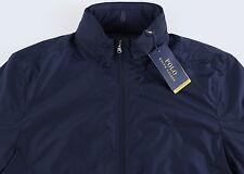 Men's POLO RALPH LAUREN Navy Blue PERFORMANCE Jacket L Large NWT NEW