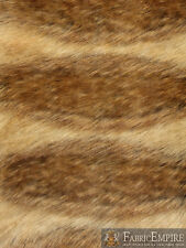 "Faux Fur Fabric Long Pile CANADIAN FOX/ 60"" Wide / Sold by the yard"