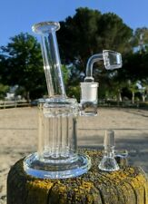 "7"" Premium Quality Tree Perc Glass Rig Combo Tobacco Smoking Water Pipe Bong"