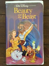 Rare Vintage Beauty And The Beast  (VHS)- Walt Disney's  Black Diamond Classic