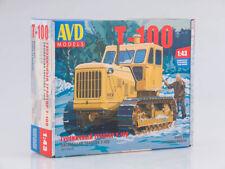 Kit model 1:43 Crawler tractor T-100