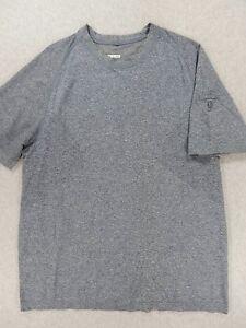 LuLuLemon Lightweight Running Training Fitness SURGE Shirt (Mens XL) Gray/Blue