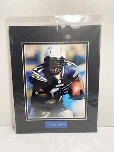"NFL San Diego Chargers LaDainian Tomlinson #21 8"" X 10"" Print w/Mat New"