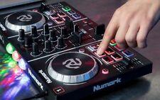 Mixer Para DJ Con Tarjeta De Sonido Espectaculo De Luces Integradas Para Fiestas