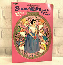 Snow White and the Seven Dwarfs Coloring Book 1952
