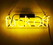 New Fvck Off Acrylic Neon Light Sign 14""