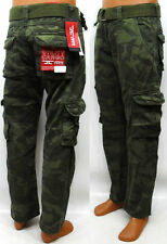 New Men's Jordan Craig Woodland Camo Utility Cargo Pants Size 38x34 Brand New!