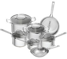 Emeril Lagasse 14 Piece Copper Core Stainless Steel Induction Safe Cookware Set