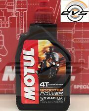 Olio Motore Motul Power 5W40 MA 100% Sintetico Estere x Maxi Scooter Potenti 1L