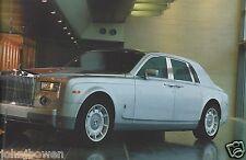 Rolls Royce Phantom launch brochure 2003