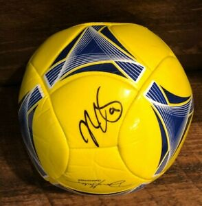 Mike Magee Signed Full Size MLS (Chicago Fire) adidas Soccer Ball W/ JSA COA