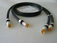 Monster Cable M-Seires M1000i ultimate audiphile RCA interconnect cable 1m USA