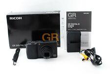 Ricoh GR Digital II 10.1MP Digital Camera Black 4317 shots  From Japan [Exc+++]