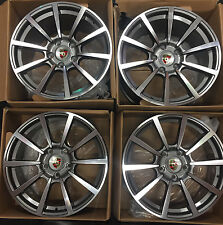 19 Porsche Cayman 991 911 Wide Body 996 997 Boxster Wheels Rims 19x8.5 & 19x11