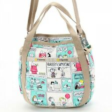 LeSportsac PEANUTS SNOOPY Shoulder Bag Tote Hand Purse Limited Japan Gift M4383