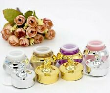 Crown Shape Empty Cream Jar Cosmetic Refillable Jars Makeup Lip Balm Travel Box