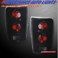 Set of Pair Black Smoke Taillights for 1995-2005 Blazer Jimmy / 96-01 Bravada