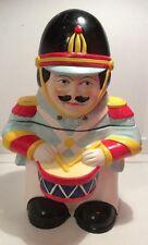 Toy Soldier With Drum Cookie Jar Ceramic/Vintage
