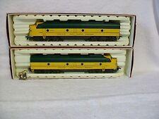 Rivarossi Chicago & North Western EMD E-8 Powered A & Dummy A – H O Train