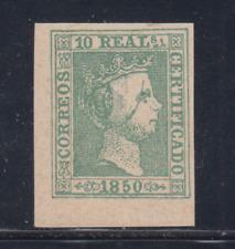 Espagne (1850) Neuf Espagne - Edifil 5 (10 R) Fausse - Lot 4