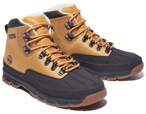 New TIMBERLAND Euro Hiker Mens Mid Boots duck Textile shoes wheat all sizes