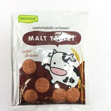 Malt Candy Milk Tablet  Healthy Chewy ROSCELA Kids Yummy Sweetened 20g x 50 pack
