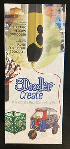 3Doodler 3D Printing Pen Electric Yellow NIB