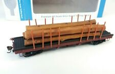 Bachmann  #18849 HO Scale 40' Log Car w/Logs (1935-1960)