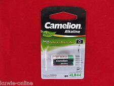 Camelion 4LR44 Plus Alkaline, 6Volt, Alkali-Mangan, Batterie, LR44,