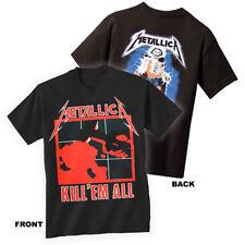 METALLICA T-Shirt Kill Em All New Authentic Rock Metal Tee S M L XL XXL
