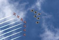 Gowen Thunder Arrival-U.S. Air Force Thunderbirds and Royal Canadian Snowbirds