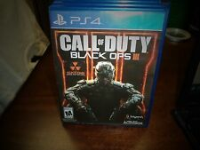 CALL OF DUTY: BLACK OPS III FOR PLAYSTATION 4 PS4 IN ORIGINAL CASE!!