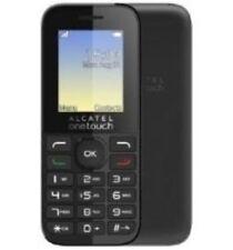 Teléfono MÓVIL ALCATEL OT-1016G Negro-Desbloqueado Con Cargador De Casa Nueva Y Garantía