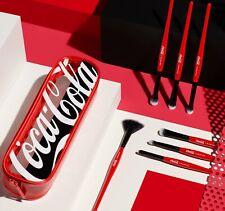 Coca Cola X Morphe 7-piece Eye & Highlighter Brush Collection + Bag