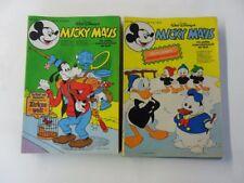 25x Micky Maus Comic Sammlung 1971 mit Beilage Zustand 1-2/2