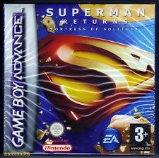 GBA Superman Returns, 2006 UK Pal Version, Brand New Nintendo Factory Sealed