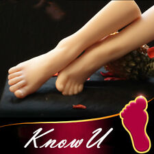 One Left Or Right Lifelike Silicone Leg Feet Female Mannequin   Display Model