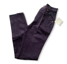 Vintage Western  ETHICS Women's Purple Mom Jeans Size 3/4 X 36 NEW High Waist