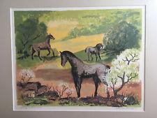 "Louie Ewing  ""Spring pasture""  Serigraph  11/130"