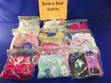 Build A Bear GIRLS Pink Clothing Shoes Dresses Accessories (10) Outfit Lot VGC
