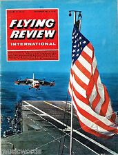 FLYING REVIEW INT DEC 67: IDF POWER/ HOME-BUILDS/ XF-85 GOBLIN/ HE111/ DOWNLOAD