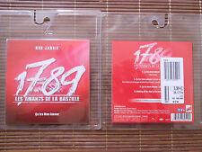 """CD SINGLE 3 TITRES + MAKING OF """"CA IRA MON AMOUR"""" 1789 LES AMANTS DE LA BASTILLE"""